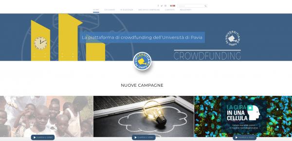 6 marzo - Digital Philantropy: Raccontare e rendicontare il crowdfunding UNIPV