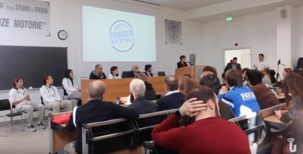 All'Università di Pavia la nazionale di basket femminile (Video)