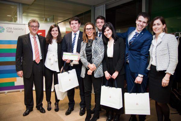 La squadra UNIPV vince il titolo italiano della CFA Research Challenge 2018