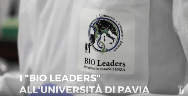 """I """"bio leaders"""" all'Università di Pavia (Video)"""