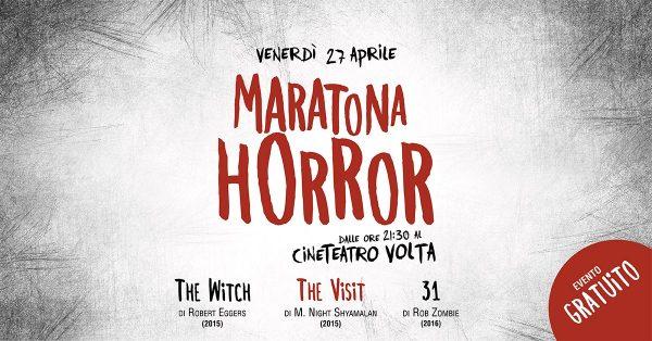 27 aprile – Maratona Horror