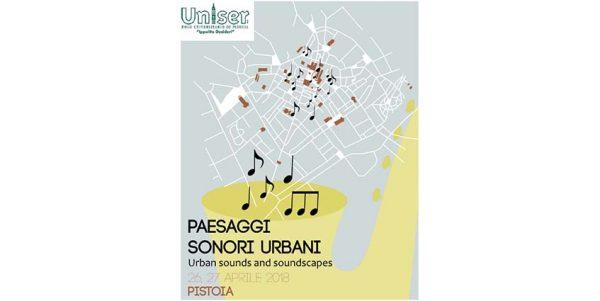 26 E 27 aprile – Paesaggi sonori urbani
