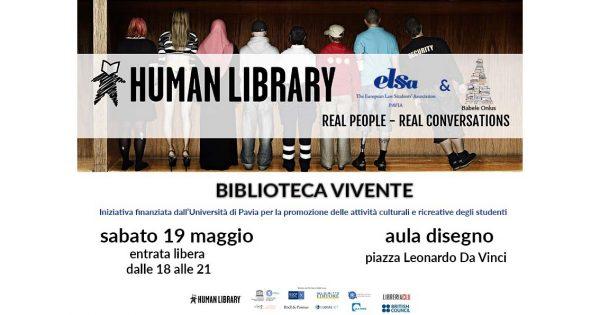 19 maggio – Human Library