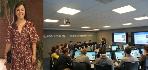 Studentessa del 3° anno di ingegneria elettronica e informatica selezionata per partecipare a un corso a numero chiuso dell'Agenzia Spaziale Europea
