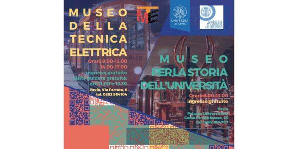 18 maggio - Il Sistema Museale di Ateneo UniPV aderisce alla Giornata Icom 2018