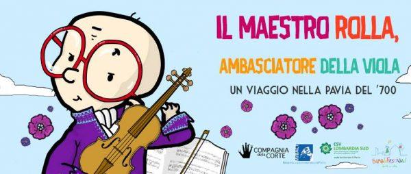 26 maggio - Il Maestro Rolla, ambasciatore della viola