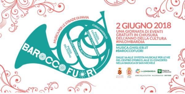 2 giugno – Barocco fuori. Musica per le strade di Pavia