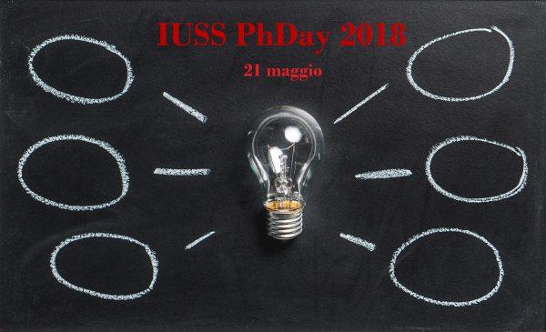 21 maggio - IUSS PhDay – prima edizione