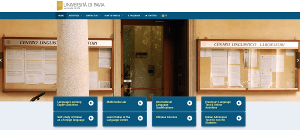 Centro Linguistico - Sito in Inglese / Language Centre Website - English version