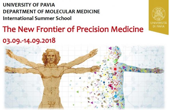 "Dal 3 al 14 settembre – Summer School ""The New Frontier of Precision Medicine"""
