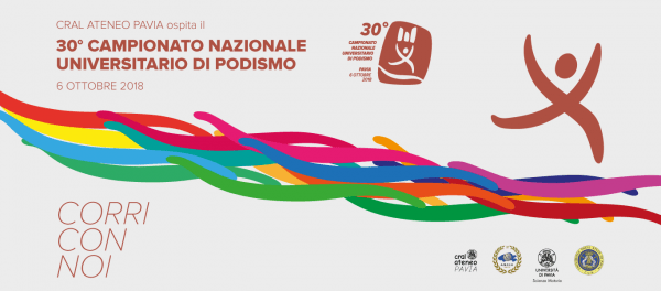 6 ottobre - Corri con noi! Il CRAL Ateneo Pavia ospita il 30° Campionato Nazionale di Podismo dei circoli universitari
