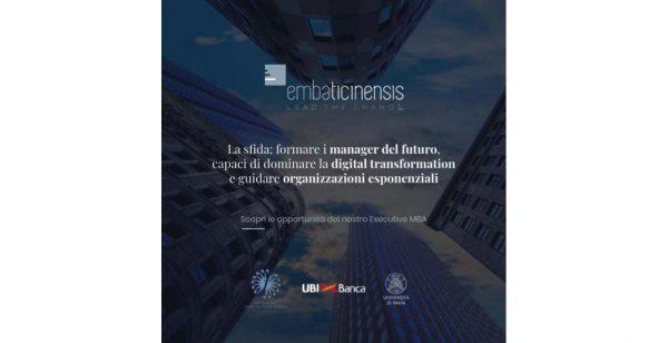 Nasce EMBA Ticinensis, l'Executive MBA per formare i manager del futuro