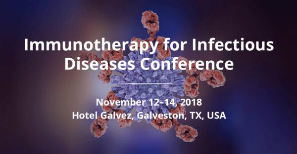 Dal 12 al 14 novembre - Conferenza sull'Immunoterapia per le Malattie Infettive