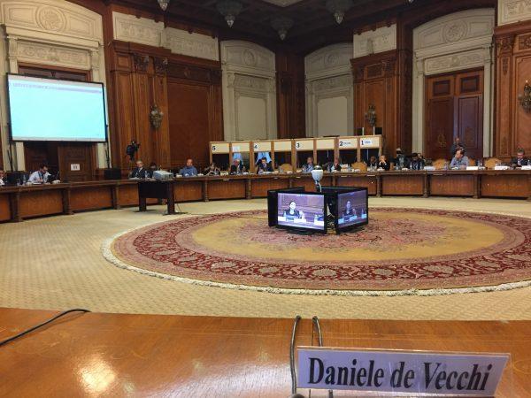 """Spin-off del nostro Ateneo invitata al parlamento rumeno per illustrare il proprio progetto come """"caso di successo"""" in occasione del convegno annuale sull'iniziativa UE """"Copernicus"""""""