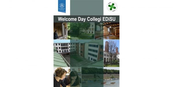 29 novembre – Welcome Day Collegi EDiSU