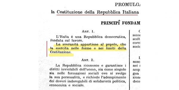 """14 dicembre - Convegno internazionale su """"Sovranità, democrazia e libertà"""""""