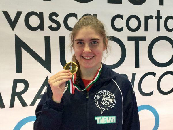 Monica Boggioni, record del mondo ai Campionati Italiani Assoluti Invernali in vasca corta