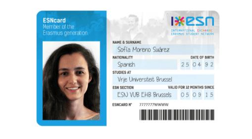 Erasmus Student Network: ESNcard