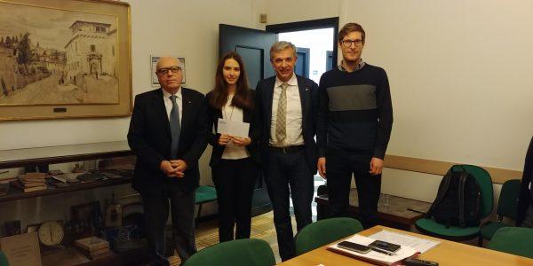Congratulazioni a Lara Novaresi, studentessa della LM in Electronic Engineering UniPV e vincitrice del premio Giovani AEIT