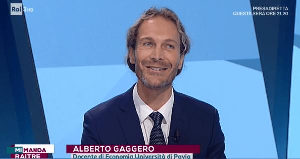 """Prof. Gaggero UniPV ospite a """"Mi manda RaiTre"""""""