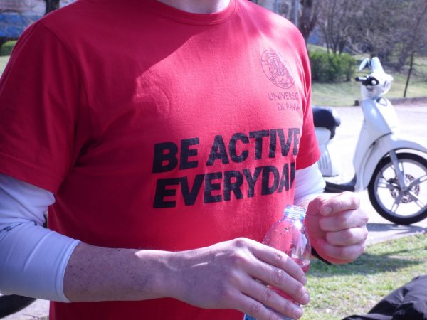 3 aprile – Be active everyday #BAE19 #unipv