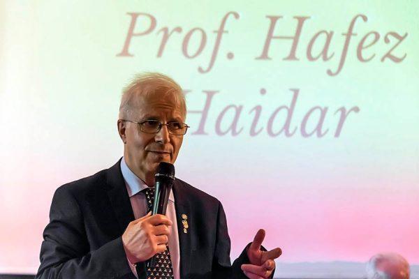 Hafez Haidar insignito del Premio AlberoAndronico in Campidoglio a Roma