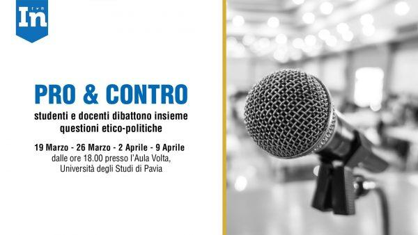 19 marzo – Pro & Contro