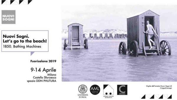 """Dal 9 al 14 aprile – La mostra fotografica """"Nuovi Sogni. Let's go to the beach! 1850. Bathing Machines"""""""