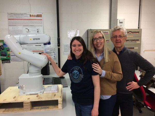 Team UniPV vince competizione internazionale Win-A-Robot