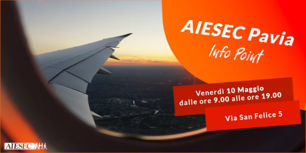 10 maggio - AIESEC Pavia Info Point