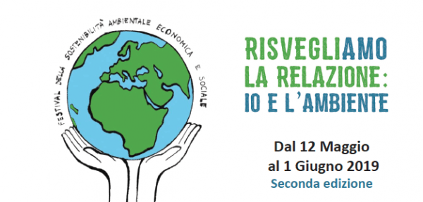 Dal 12 maggio al 1° giugno – Risvegliamo la relazione: io e l'ambiente