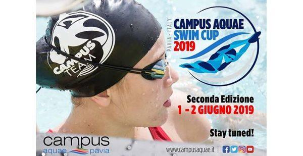 1 e 2 giugno - Campus Aquae Swim Cup 2019