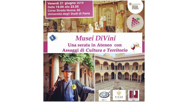 21 giugno - Musei DiVini: Assaggi di Storia e Cultura