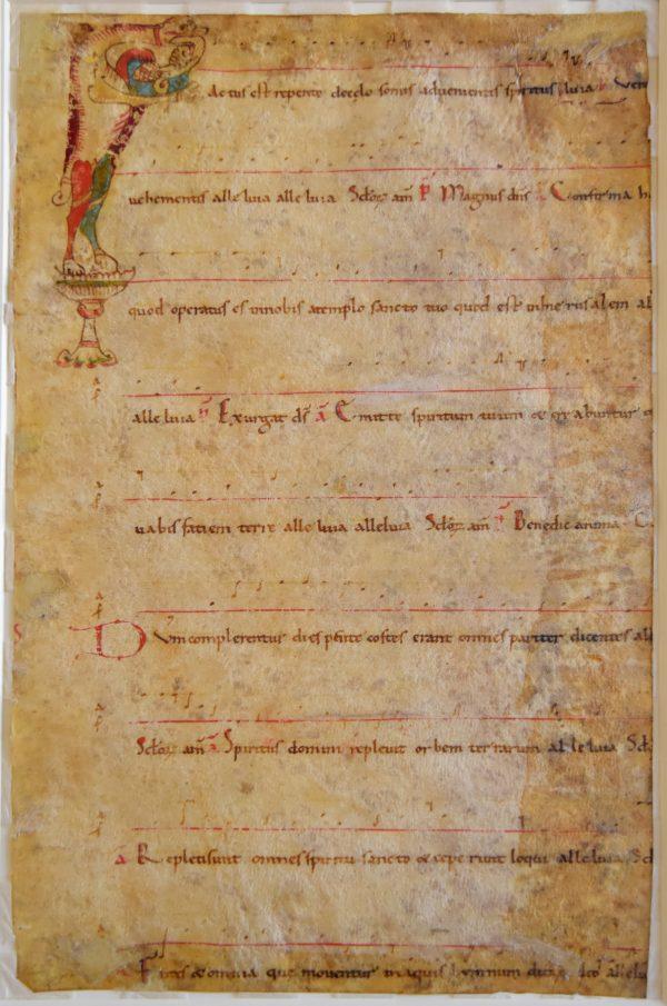 """28 maggio - """"Carta canta: il foglio d'Antifonario ritrovato nella Biblioteca Universitaria di Pavia"""""""