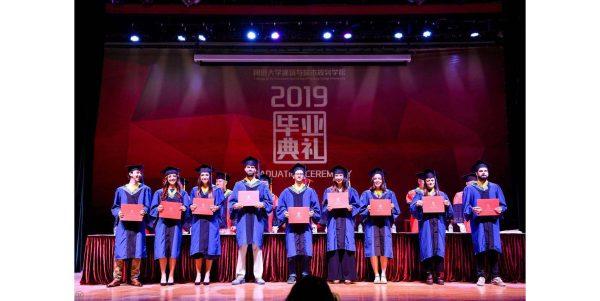 Cerimonia di laurea a Shanghai per studenti UniPV della Double Degree in Building Engineering and Architecture