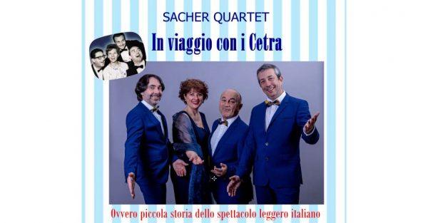 21 giugno - Sacher Quartet: In viaggio con i Cetra