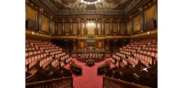 """Al Senato il saluto agli studenti del Master UniPV """"La lingua del diritto"""""""
