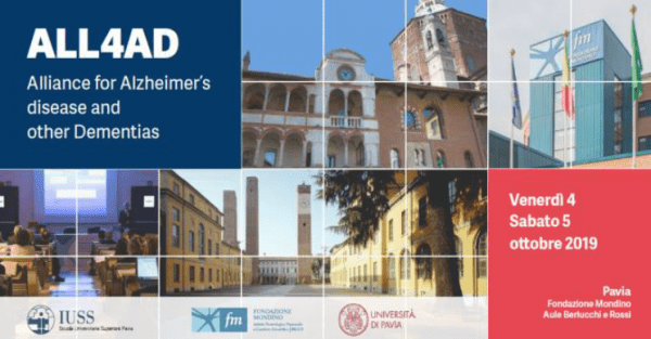 4 e 5 ottobre – Alliance for Alzheimer's Disease and Other Dementias (ALL4AD)