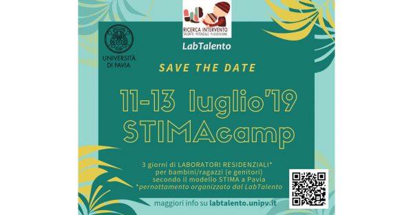Dall'11 al 13 luglio – A Pavia si svolge STIMA CAMP, 3 giorni di laboratori organizzati dal LabTalento