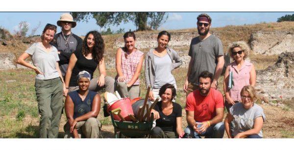Proseguono gli scavi archeologici che vedono impegnata UniPV a Tivoli, dal 1° al 21 luglio, a Villa Adriana, nell'ambito del Progetto 'Plutonium'