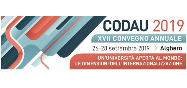 Dal 26 al 28 settembre - XVII Convegno annuale CODAU - Direttori Generali delle Amministrazioni Universitarie