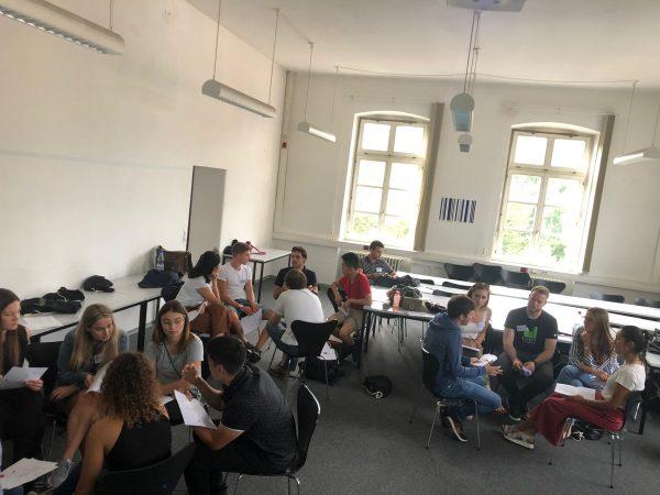 Docenti e Studenti del Corso di Laurea in Ingegneria Edile-Architettura Unipv in Germania per un workshop di progettazione