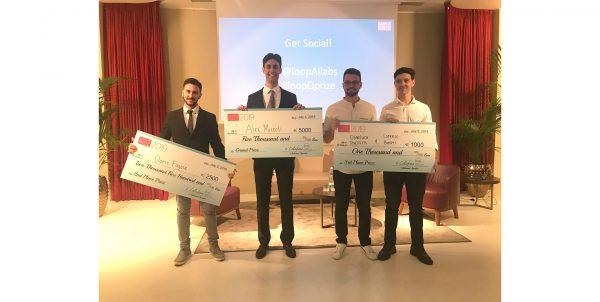 """Studente UniPV sul podio della competizione """"Loop Q Prize"""""""