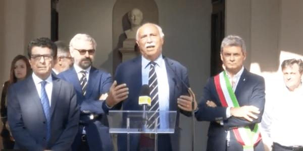 Kosmos, l'inaugurazione del Rettore (Video)