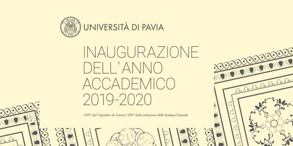 Inaugurazione dell'Anno Accademico 2019-2020