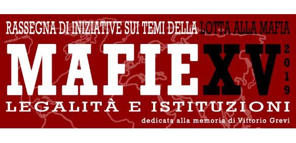25 novembre – Mafie: legalità e istituzioni 2019