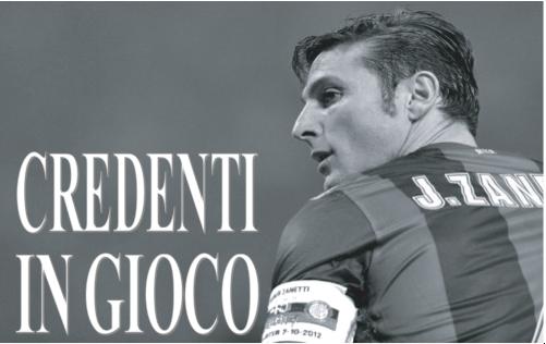 """18 ottobre - """"Credenti in gioco"""", Javier Zanetti a Pavia"""