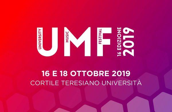 16 e 18 ottobre - University Music Festival