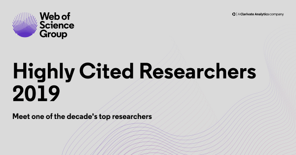 Professori dell'Università di Pavia tra gli Highly Cited Researchers 2019, i ricercatori più citati in campo scientifico (aggiornato)