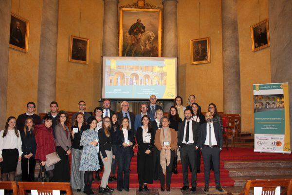 Assegnati presso UniPV i premi ai Report di Sostenibilità